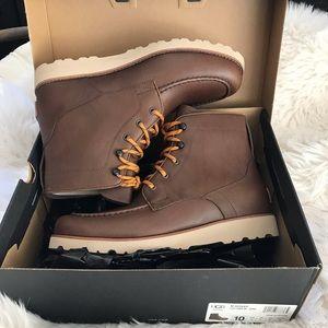 Brand New w/box UGG brown agnar waterproof boot